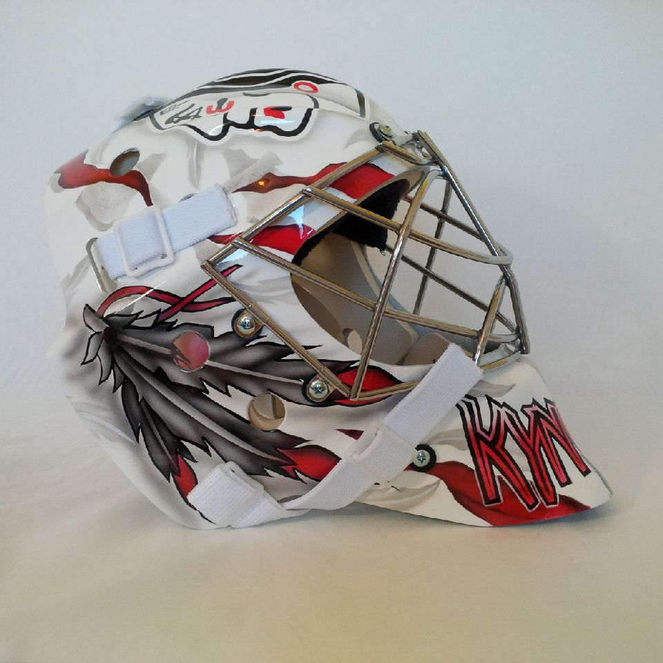 how to make a goalie mask